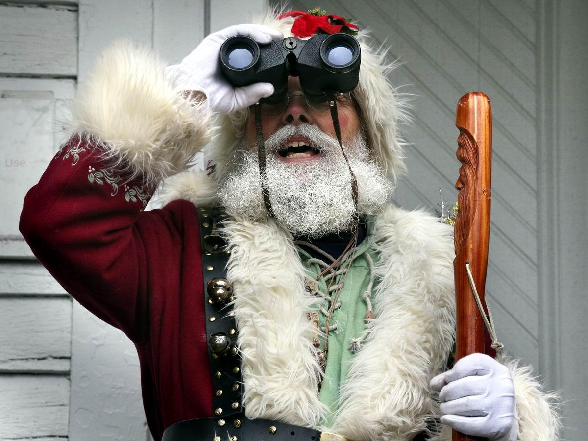 Где там, где там Новый Год?: Дед Мороз в дозоре