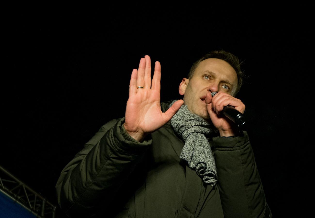 Навальный в Нижнем Новгороде. 25 ноября 2017г.