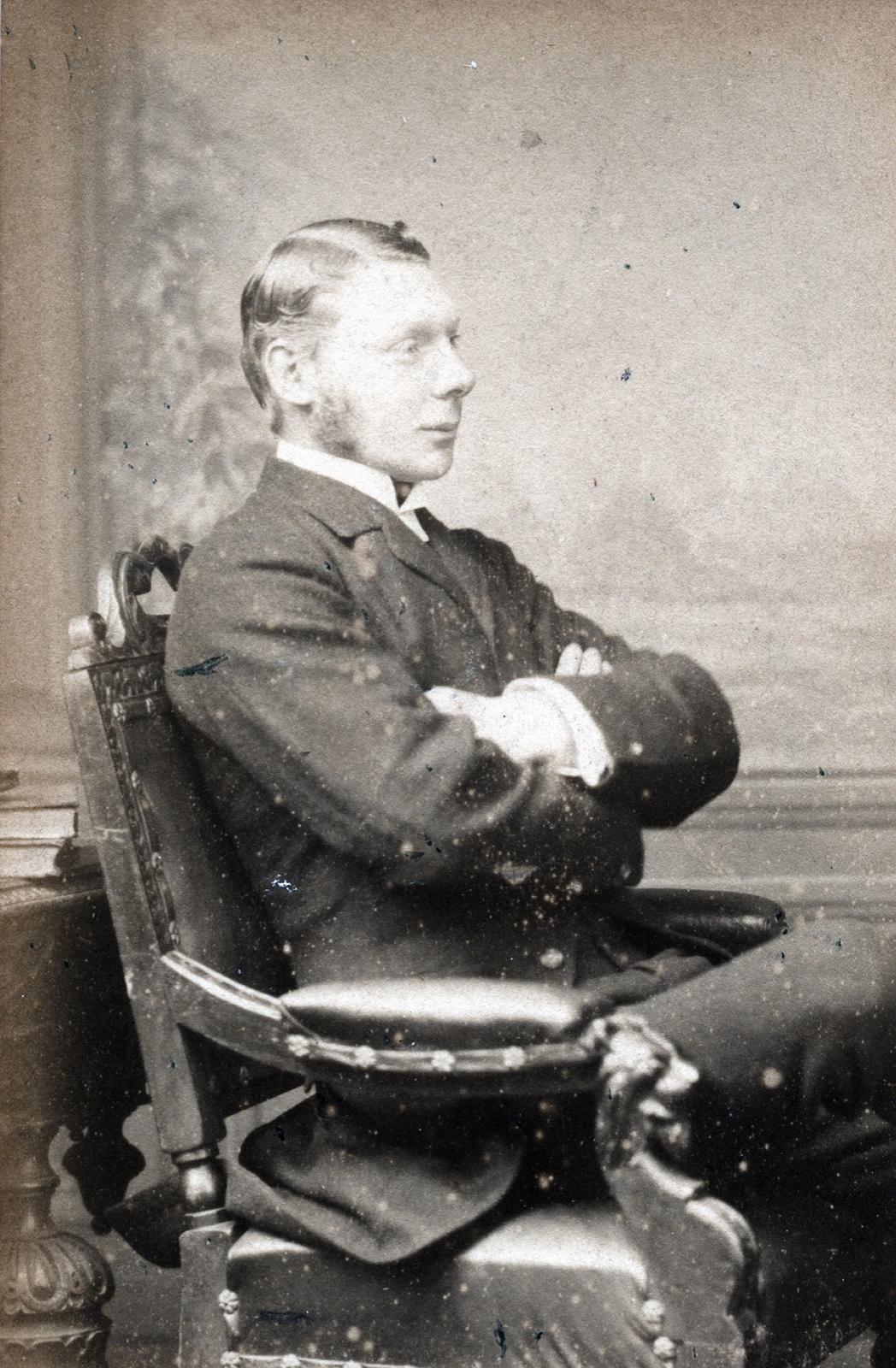 1880. Хью Сесил Лоутер — английский дворянин и спортсмен, 5-й граф Лонсдейла