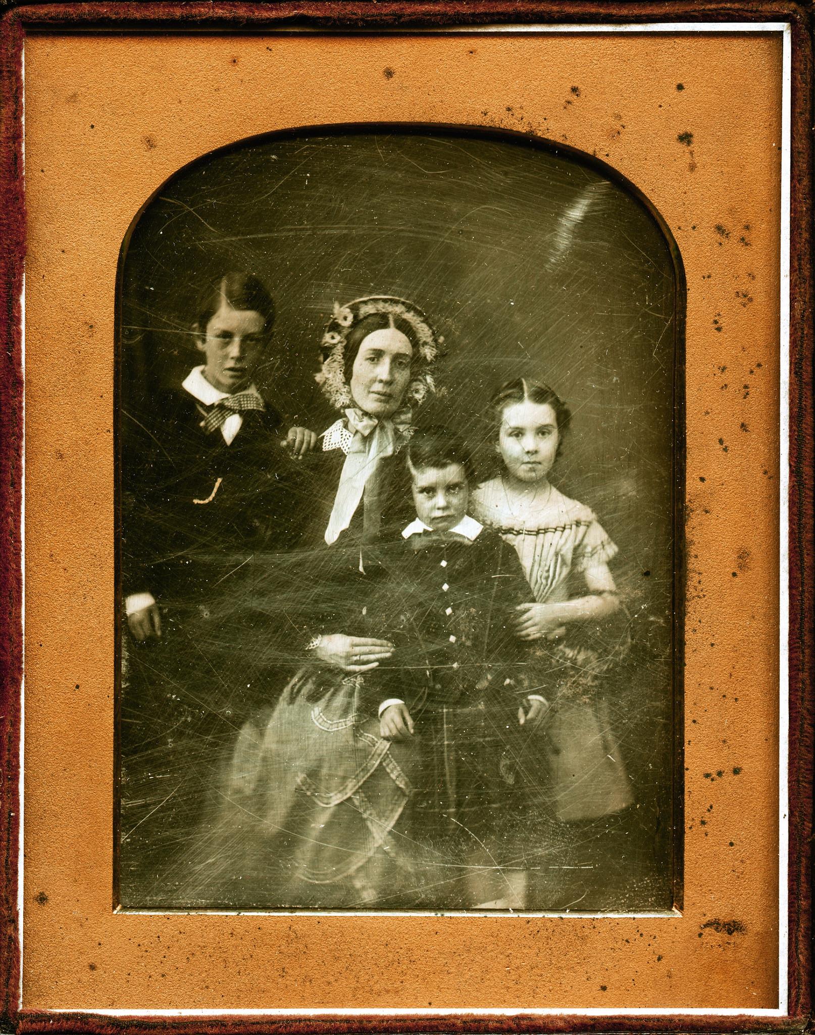 1850. Шотландская семья