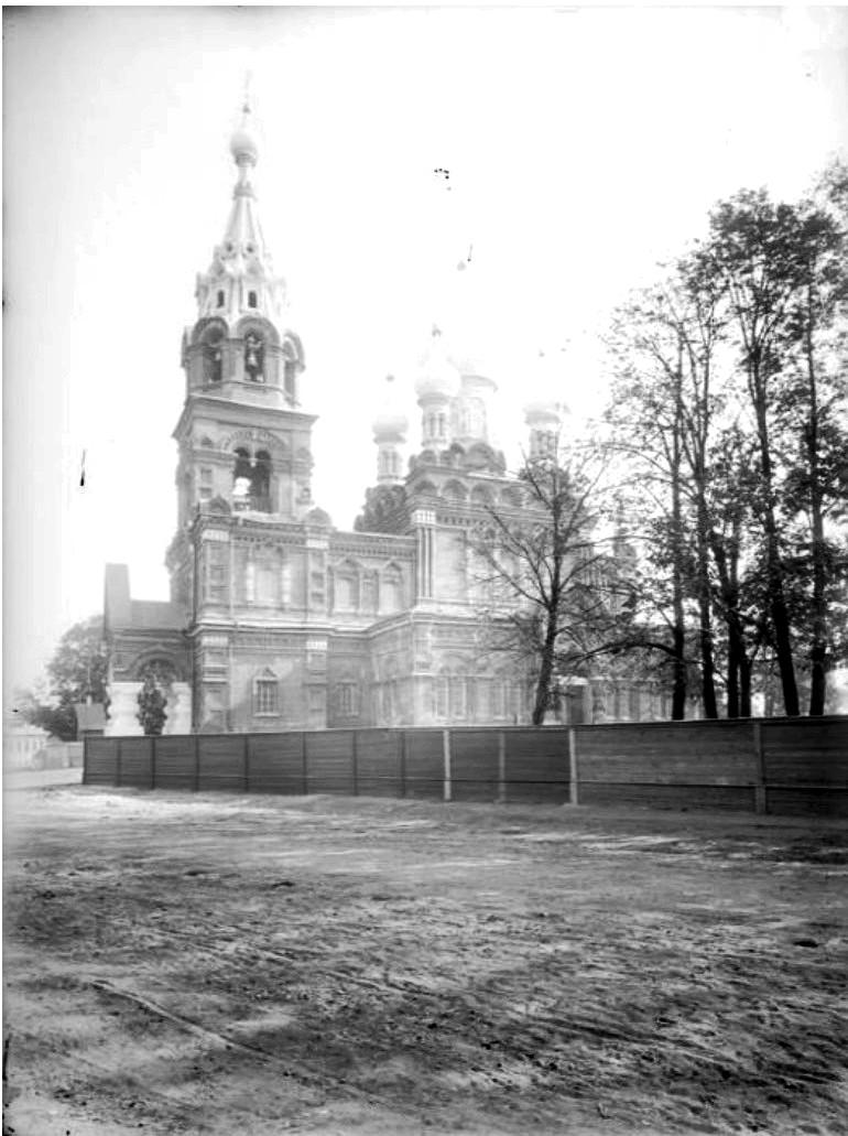 Строительство Спасской церкви