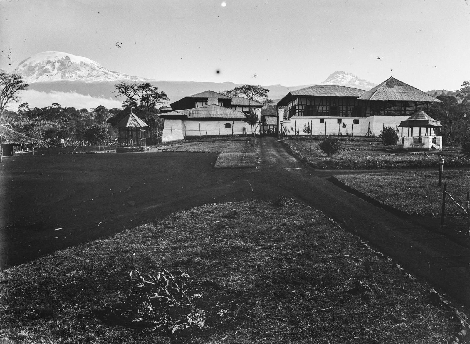 291. Станция немецкого общества Восточной Африки (ДОАГ)  в Моши