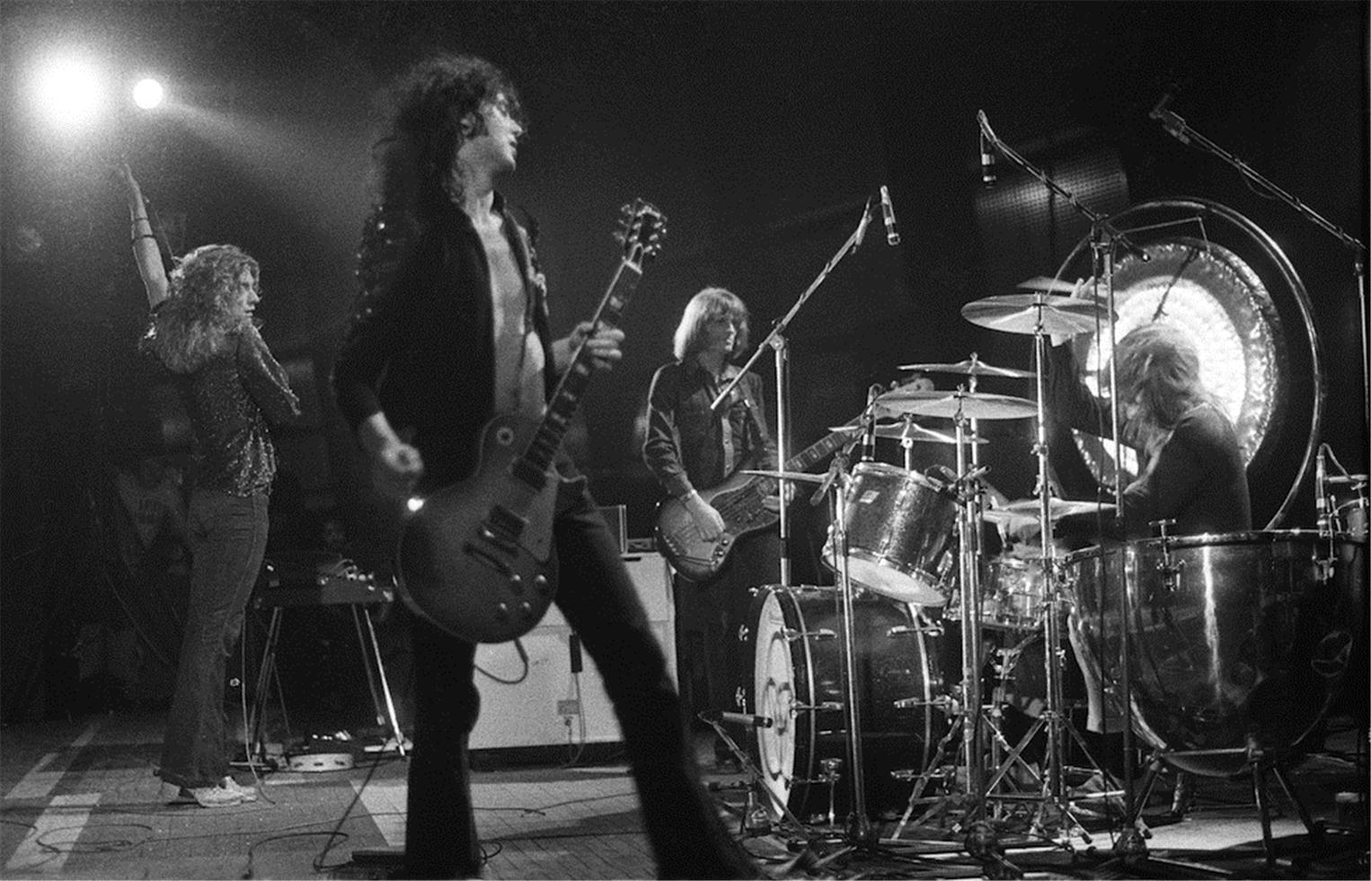 1973. «Led Zeppelin», Palais des Sports, Париж