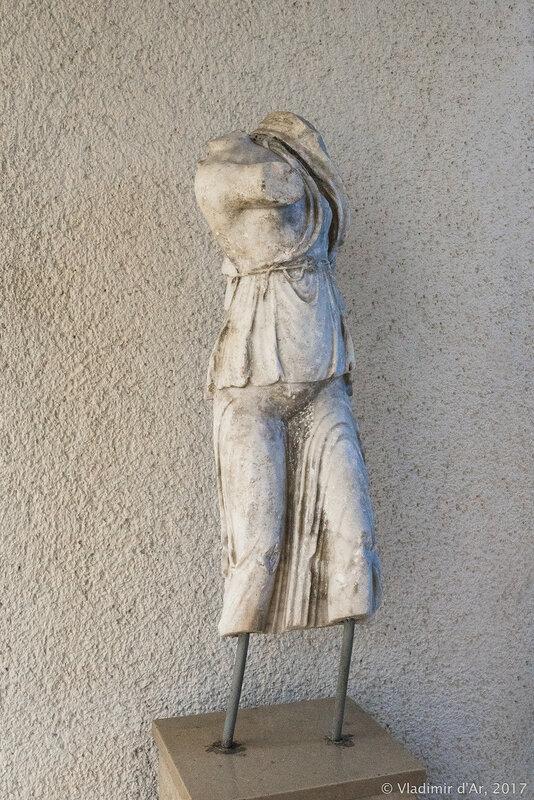 Статуя Ники. Ипподром в Константинополе.