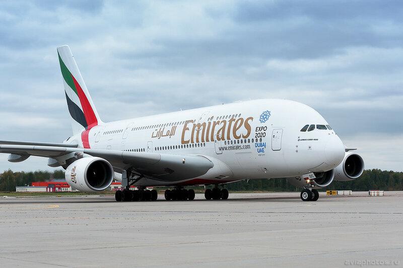 Airbus A380-861 (A6-EDC) Emirates 0189_D706553a