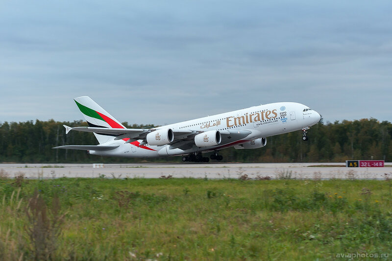 Airbus A380-861 (A6-EDC) Emirates 0444_D706643