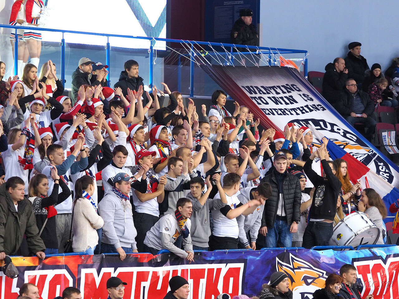 136 Металлург - Локомотив 05.01.2018