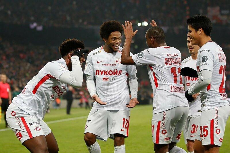 «Спартак» в Кубке России: всего два шага до финала