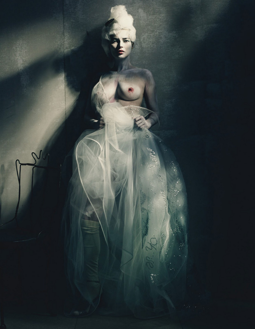 Снимки итальянского фэшн-фотографа Паоло Роверси