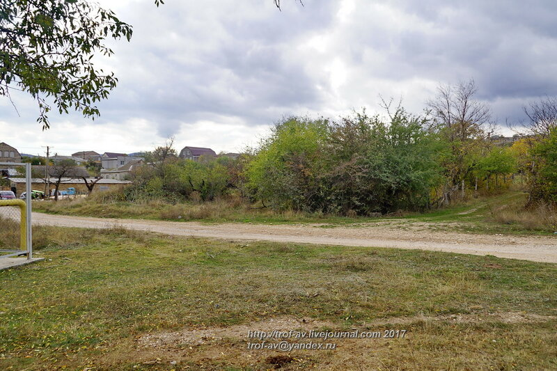 Здесь был древний колодец-кяриз, Старый Крым