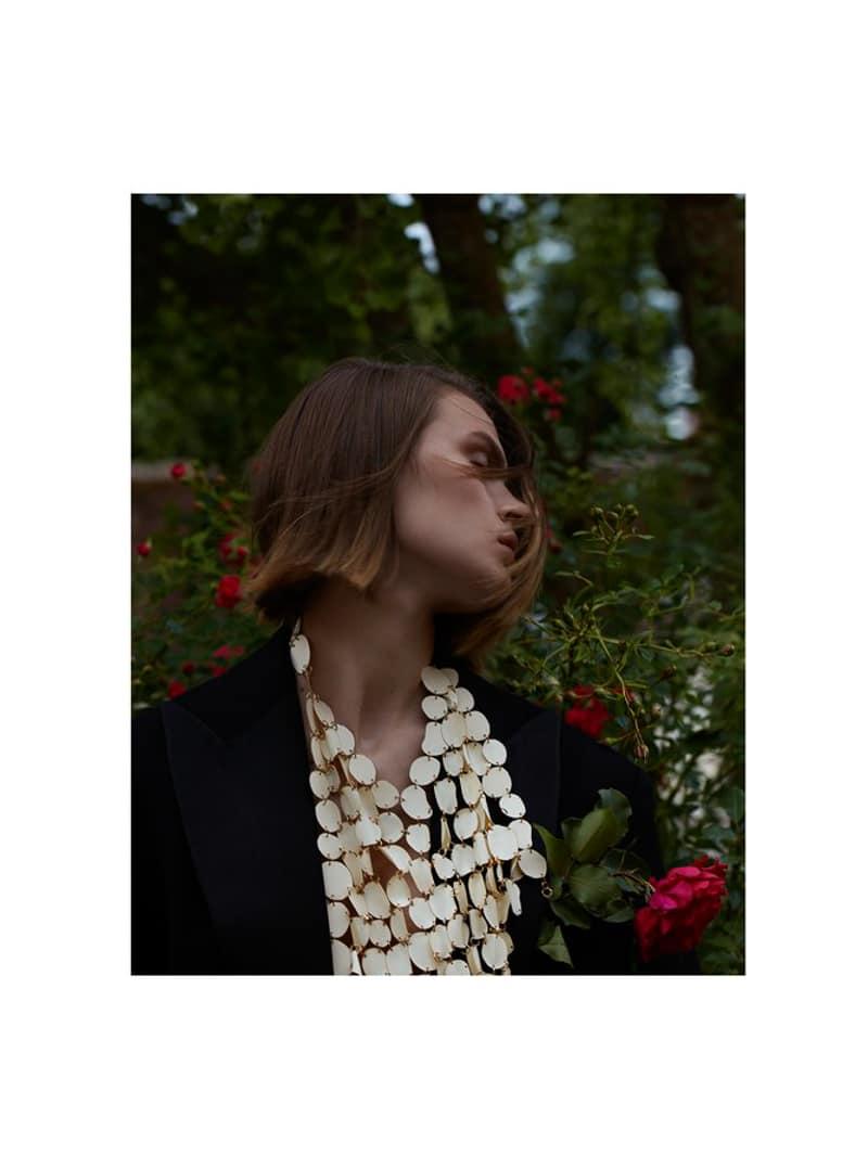 Cara Taylor by Camilla Akrans for Vogue Japan December 2017