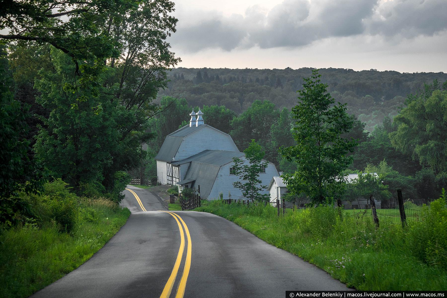 Москоу в штате Пенсильвания тоже большим поселением не назовешь. Так, деревня по местным меркам. Она