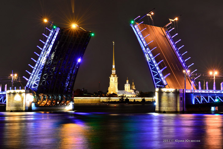 Волшебство мостов Петербурга (14 фото)