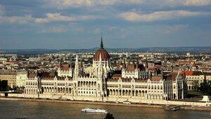 Будапешт. Здание венгерского парламента.