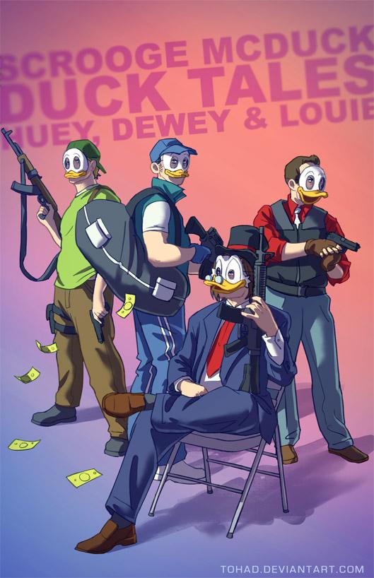 What If Cartoon Series Were Badass