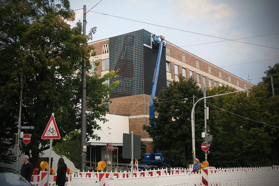 Streets: Skullphone x Positive-Propaganda (Munich) (8 pics)