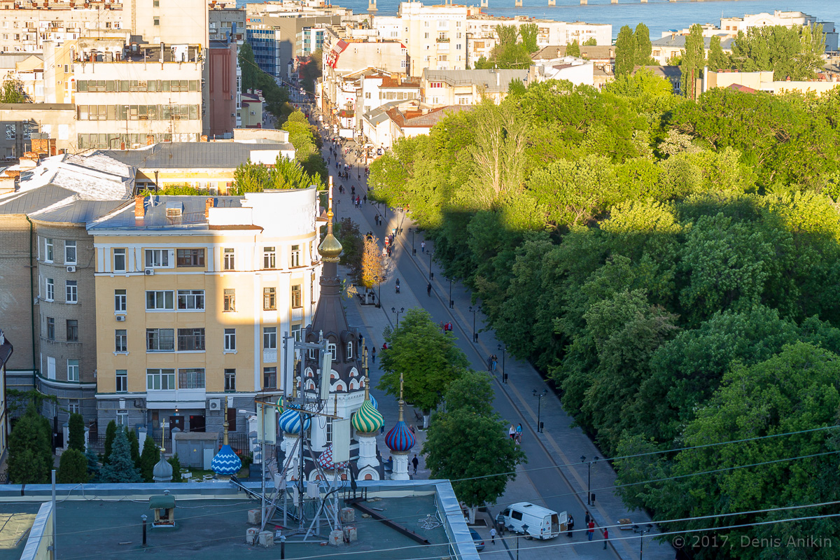 Улица Волжская с высоты фото 3