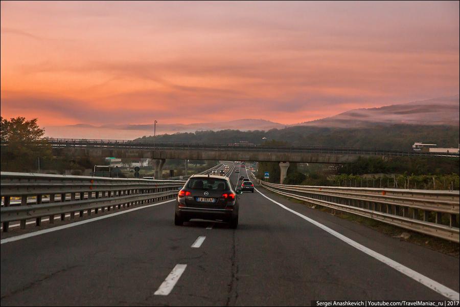 Рассветы в Тоскане