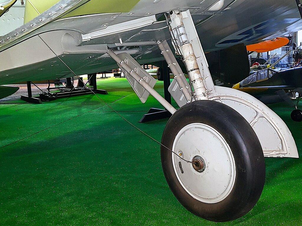 Финский музей авиации. И-16 тип 15 (УТИ-4) 15.jpg