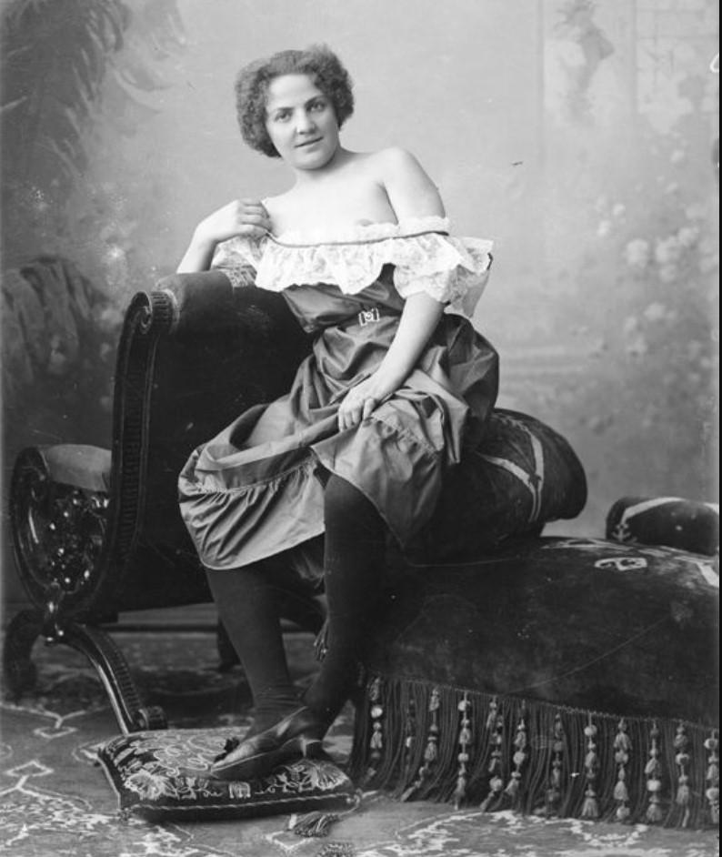 1895-1905. Густова - шансонетка Нижегородской ярмарки