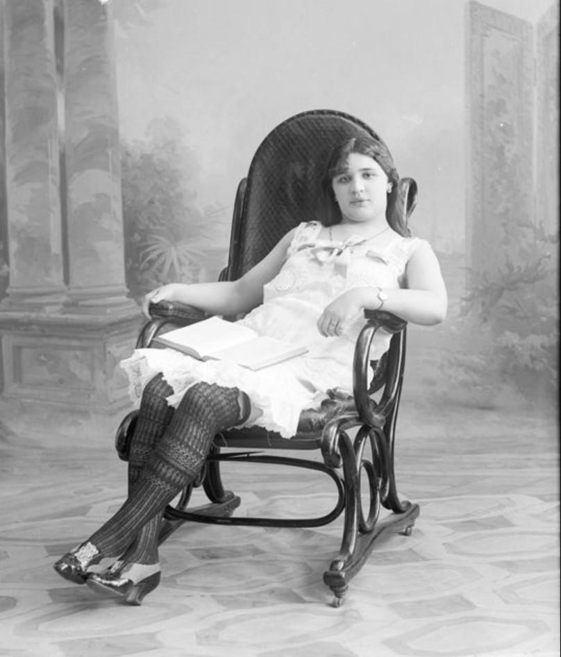 1895-1905. Тосье - шансонетка Нижегородской ярмарки