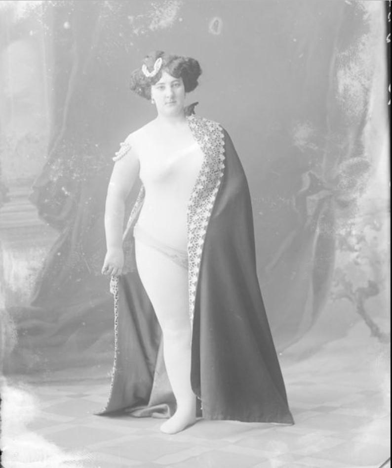 1895-1905. Фельден - шансонетка Нижегородской ярмарки