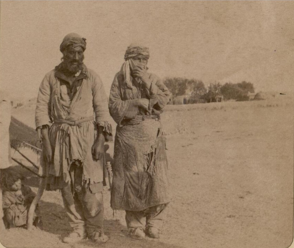 24. Окрестности Эривани. Курды