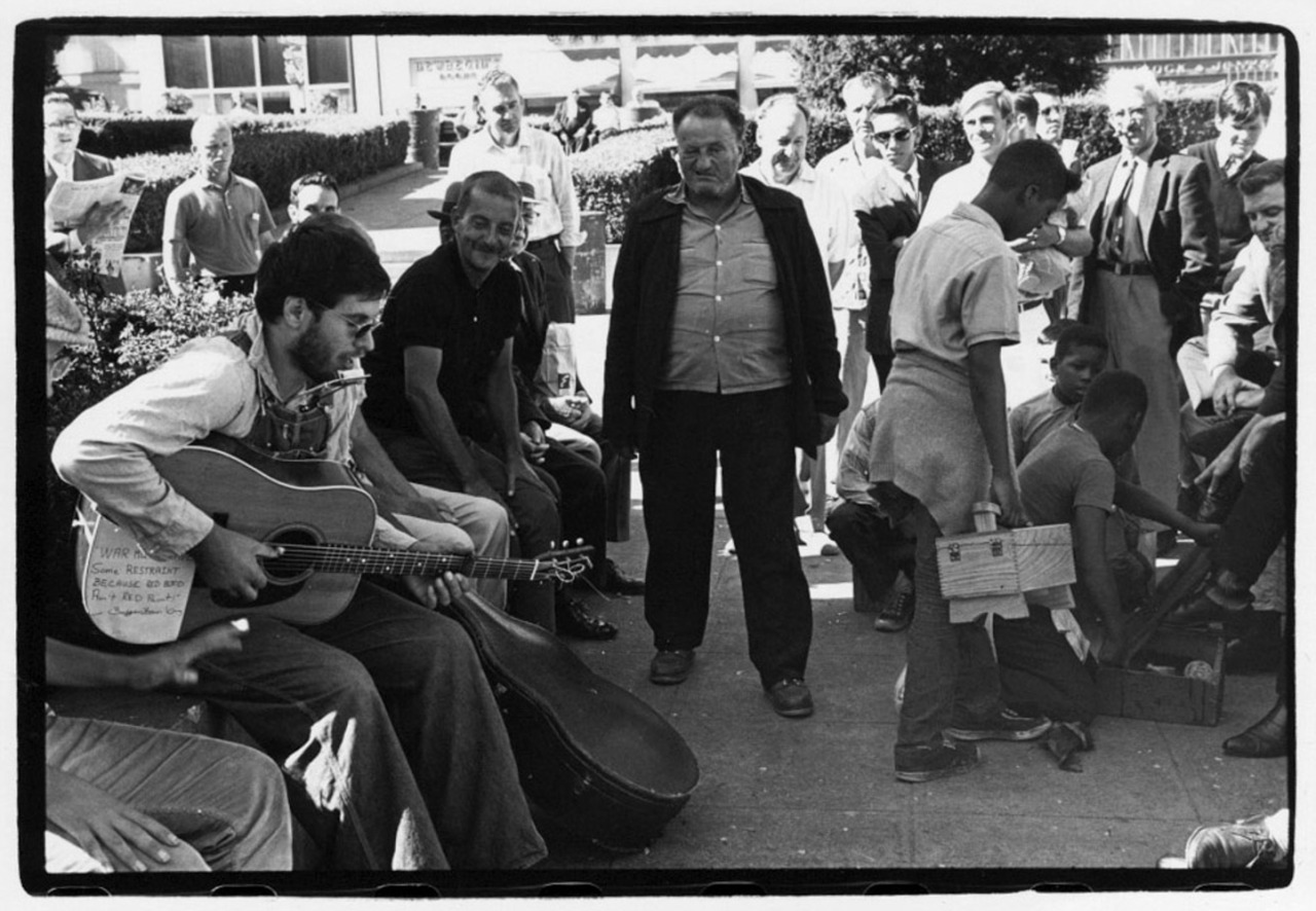 1966. Уличная сцена в Сан-Франциско
