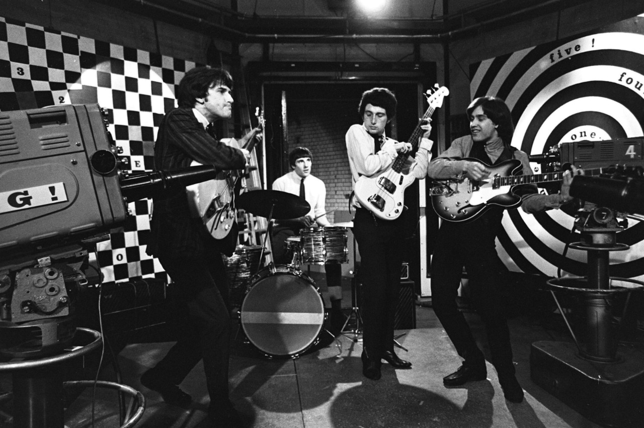 1965. «The Kinks» на британском TV