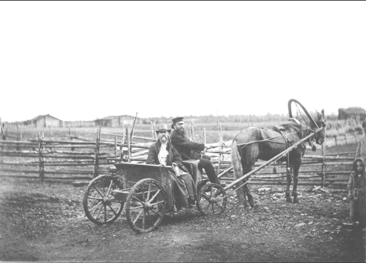 Отец Иоанн на прогулке в селе Сура и его окрестностях. 1891