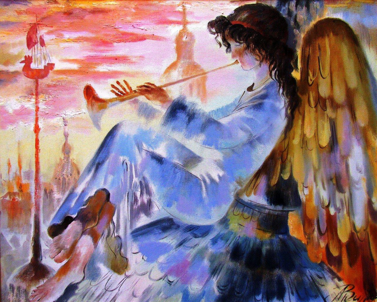 владимир акимов.ангел над городом.jpg