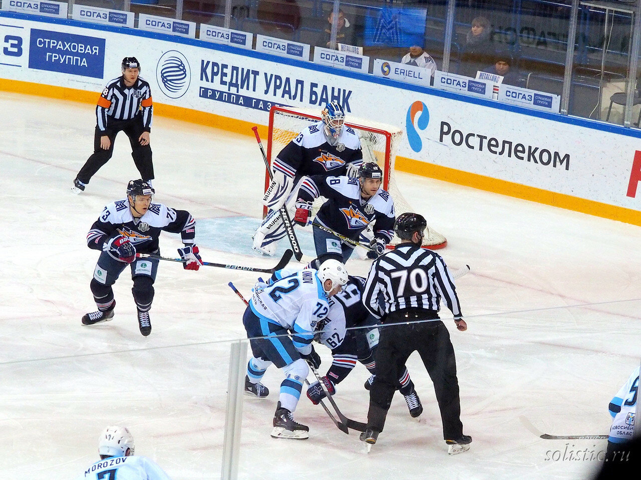 58 Металлург - Сибирь 09.11.2017