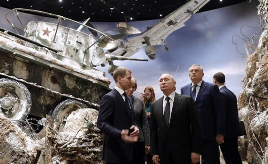 Путин призвал не допустить повторение трагедии Великой Отечественной войны