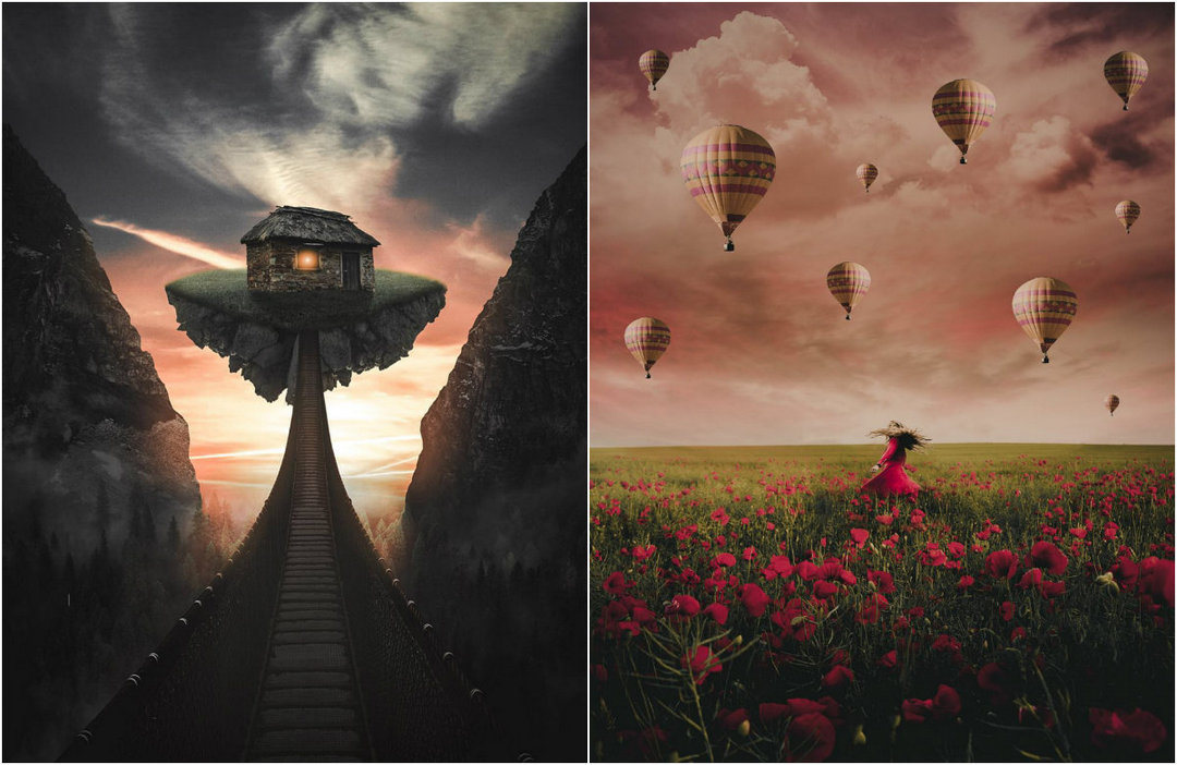 Fabulous photo manipulation of Emma Karlsson