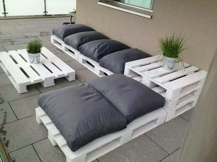 мебель из строительных палет