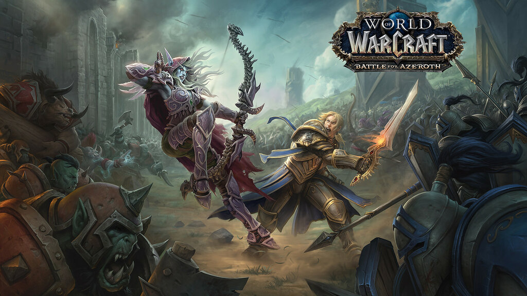 WoW World WarCraft Battle for Azeroth 2017 2018 Blizzard ВоВ Варкрафт Битва Азерот Близзард