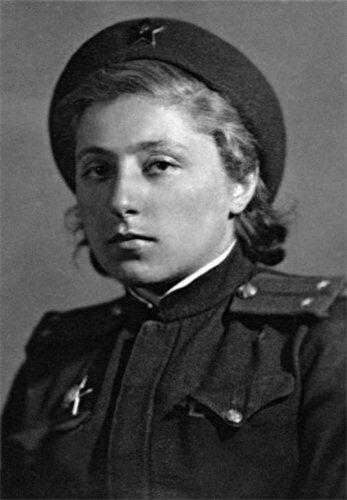 Елена Моисеевна Ржевская.