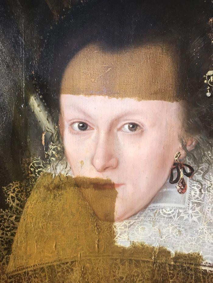 До этого момента картина была частью частной коллекции, хранящейся в Англии