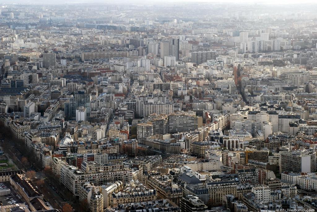 32. Юго-восточная сторона. 15-й спальный округ Парижа.