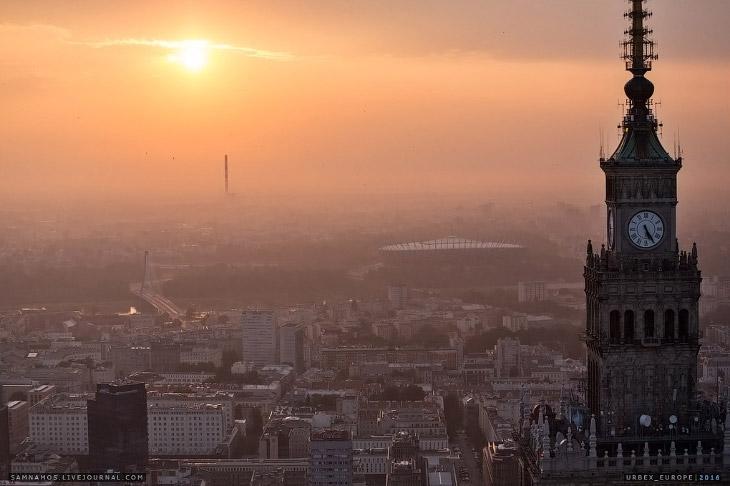 Высотная Варшава (39 фото)