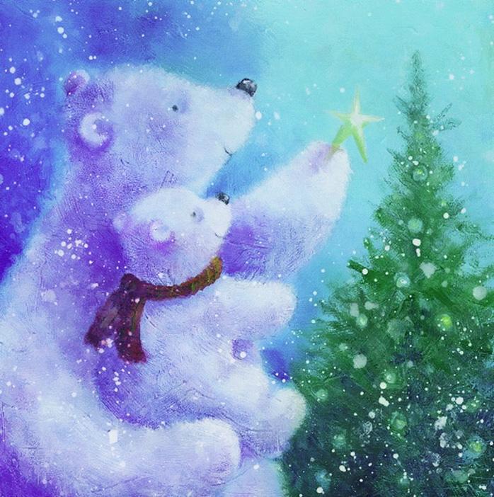 3 чудесных новогодних стихотворения (3 фото)