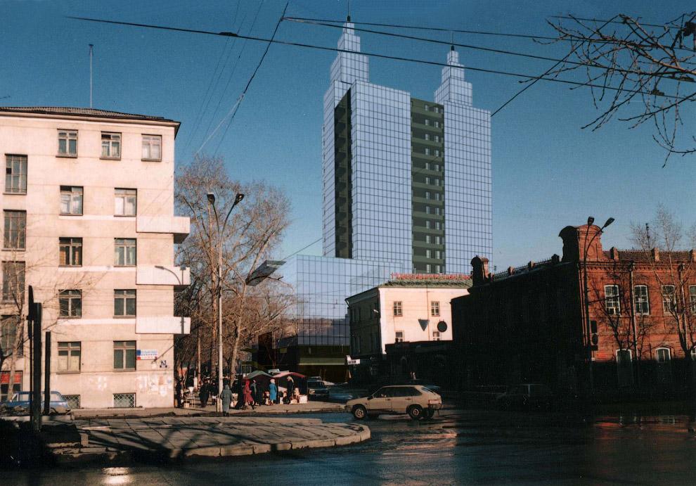 48. Вид со стороны станции метро Октябрьская.