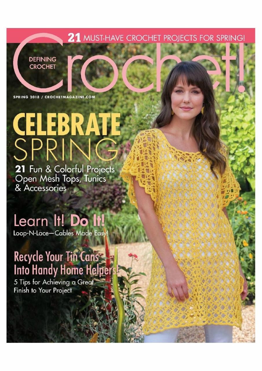 Журнал «Crochet!» Spring 2017г