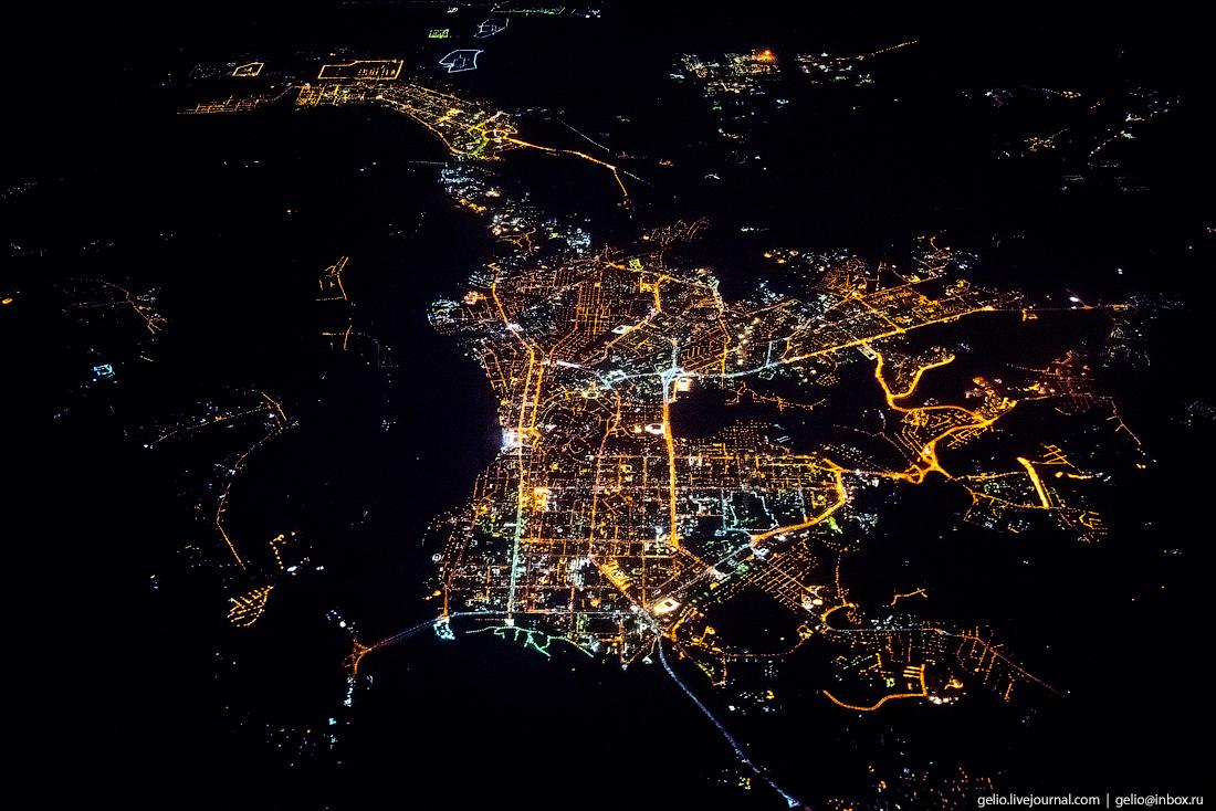 Томск. Фотографии из окна самолета