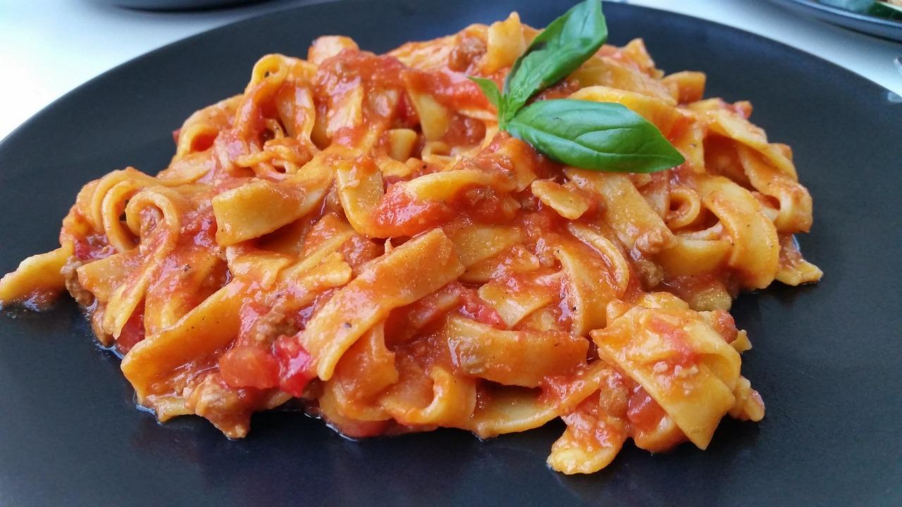 2 место. Макароны с томатным соусом. Nudeln mit Tomatensauce