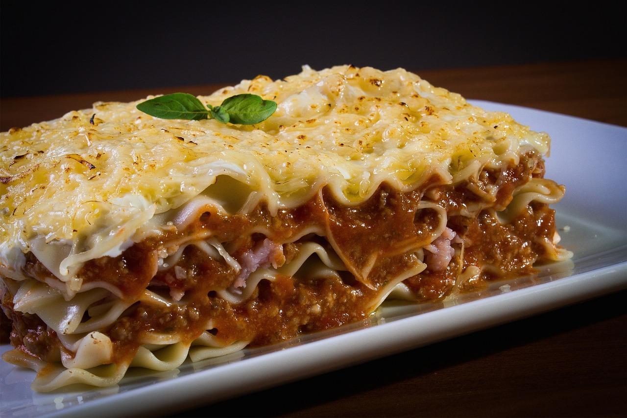 8 место. Лазанья. Lasagne