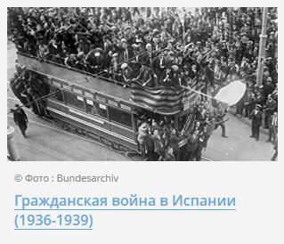 Гражданская война в Испании (1936-1939)