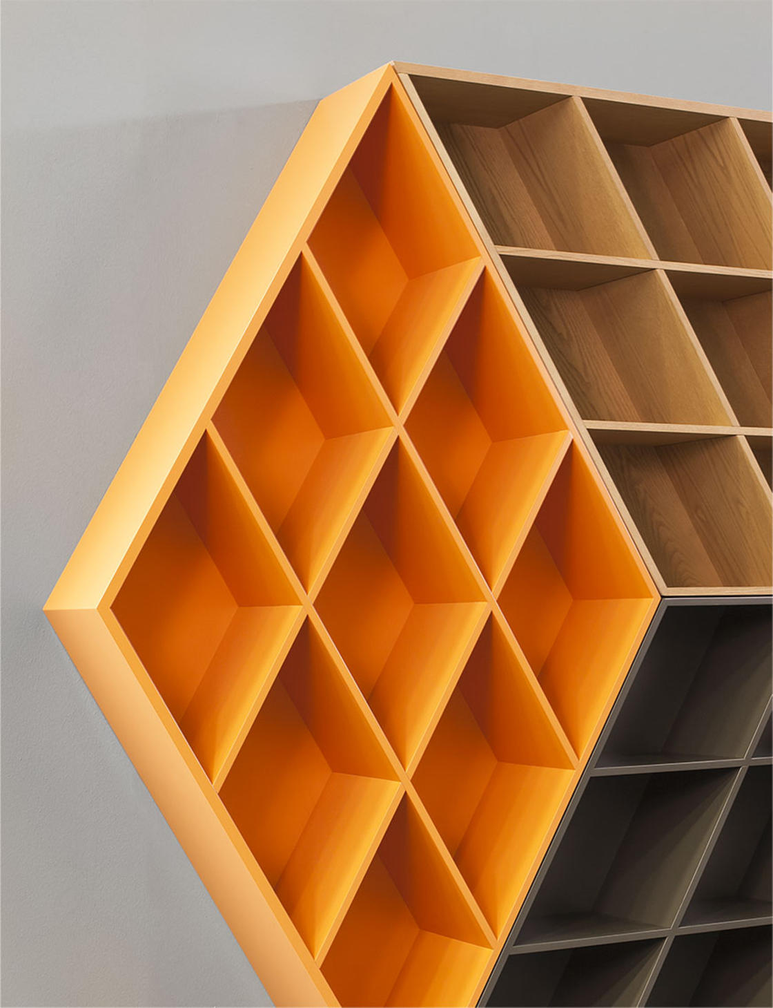 Rubika Bookcase – A beautiful bookcase paying tribute to the Rubik's Cube