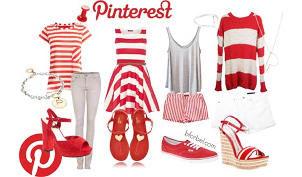 Facebook, Twitter, Instagram, Pinterest… – Dress in the colors of your favorite social networks