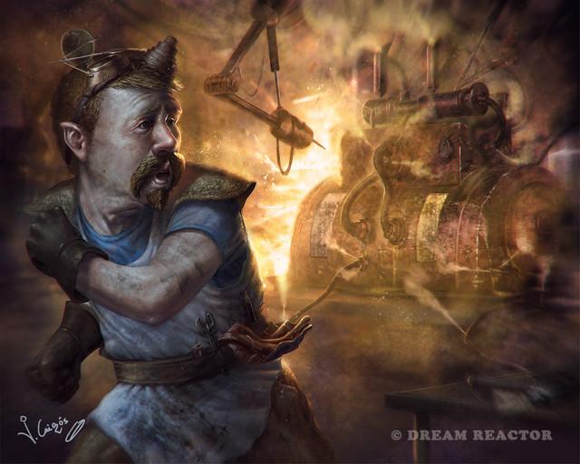 Fantasy Digital Artwork by Joshua Cairos